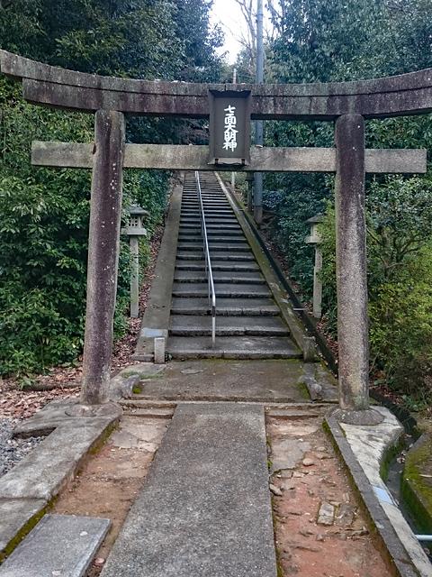 宝塔寺・七面宮参道