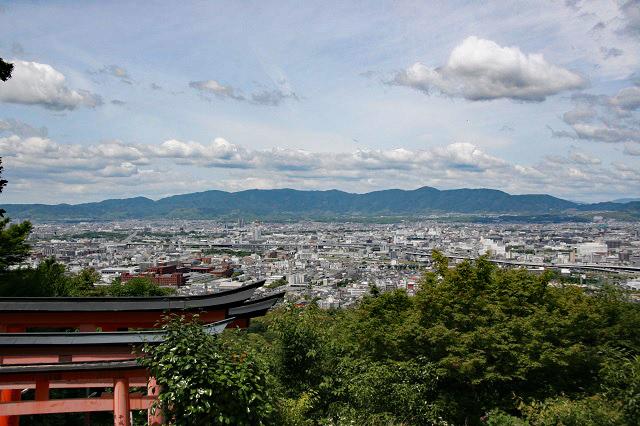 稲荷山・四ツ辻からの眺望