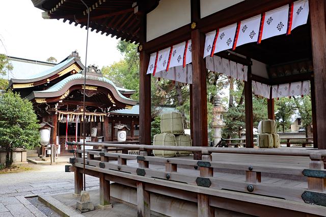 上御霊神社・境内風景