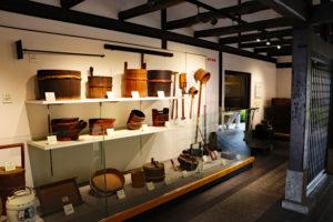 黄桜記念館・酒造道具の展示