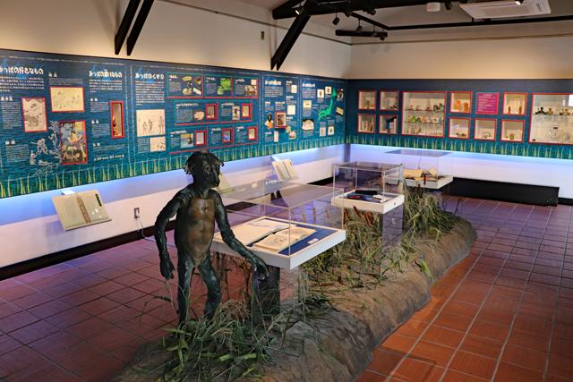 黄桜記念館・カッパの展示室