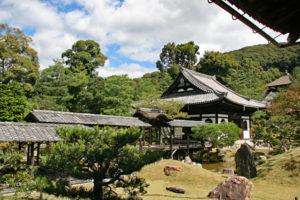 高台寺庭園西側