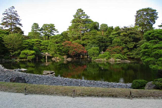 京都御所御池庭