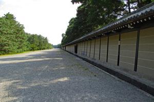 京都御苑・御所横