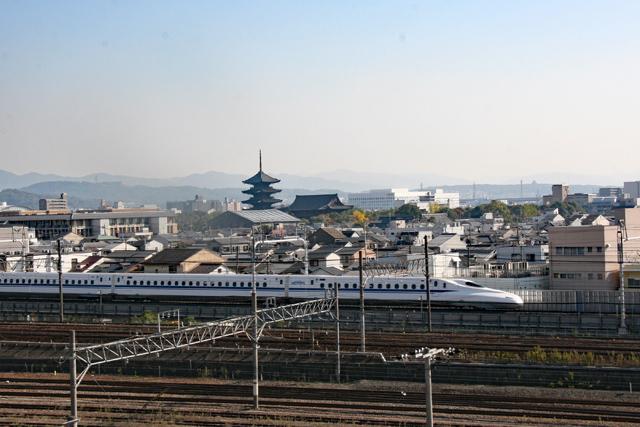 京都鉄道博物館・本館3階スカイテラス
