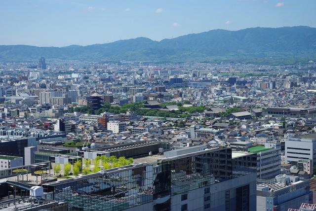京都タワーから東寺