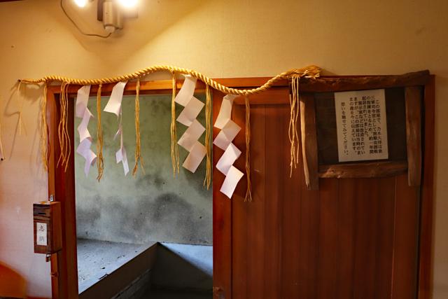 乃木神社記念館内・乃木大将寝室
