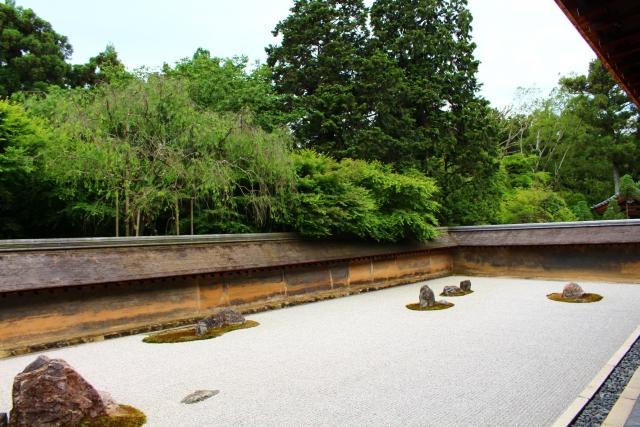 龍安寺石庭(方丈庭園)