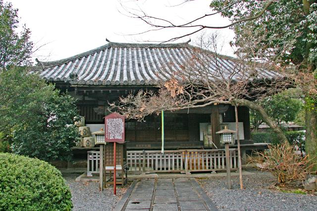 千本釈迦堂境内・北野経王堂