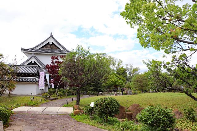 勝竜寺城公園風景