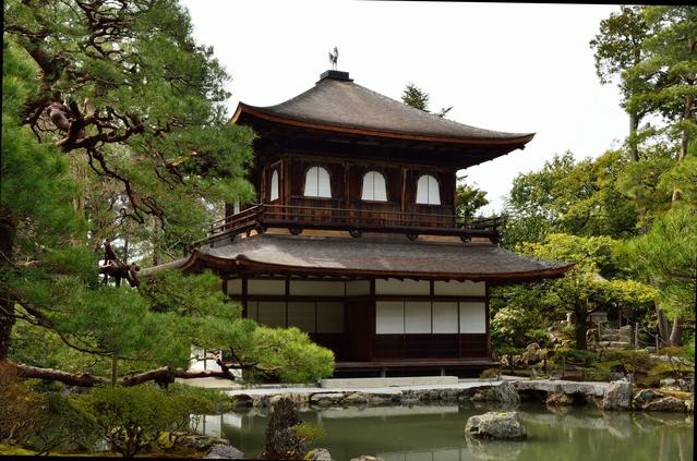 銀閣寺(哲学の道・北端)