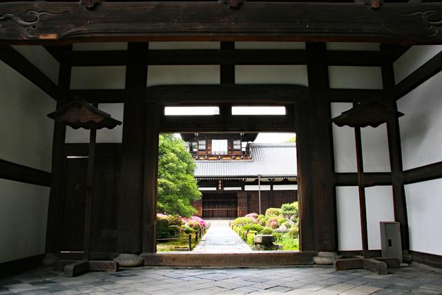 東福寺常楽庵(開山塔院)