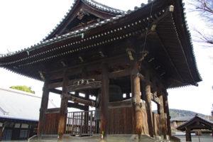 方広寺鐘楼と梵鐘