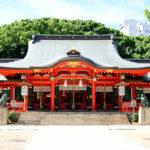 神社について(社殿)|鳥居の先は神域、奥の本殿には神が宿るご神体