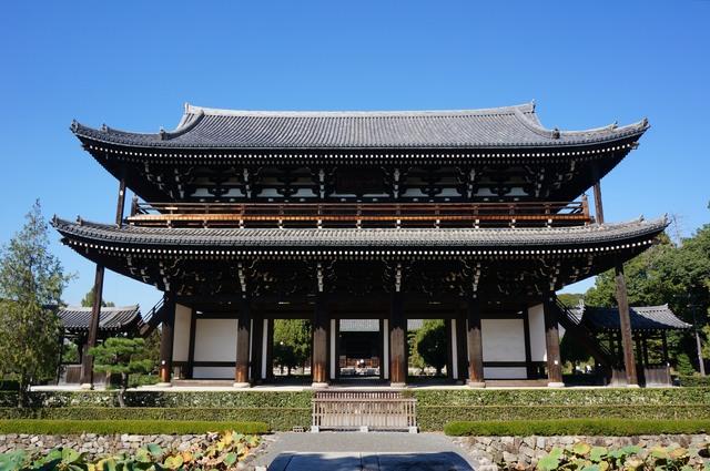 京都五山第四位・東福寺(三門)