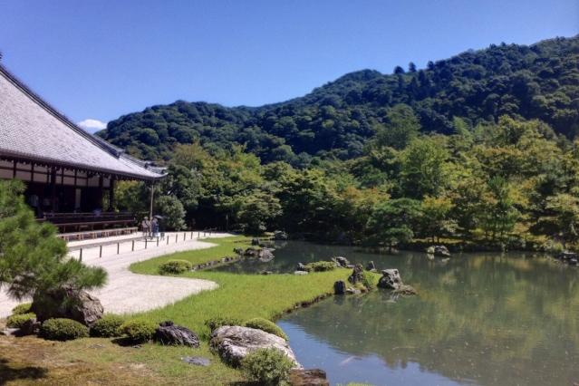 京都五山第一位・天龍寺(名勝庭園)