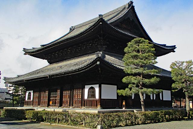 京都五山第三位・建仁寺(法堂)