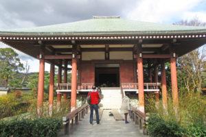 中宮寺本堂正面