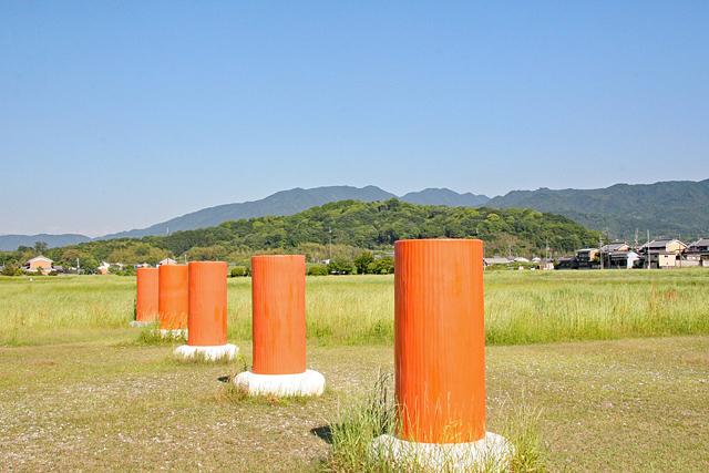 藤原宮跡から天香具山