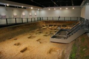 遺跡展示館