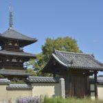 法起寺|太子ゆかりの斑鳩の古寺、日本最古の三重塔(奈良名所巡り)