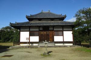 法起寺講堂