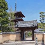 法輪寺|のどかな斑鳩の里と調和した再建三重塔(奈良名所巡り)