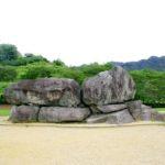 石舞台古墳|地面むき出しの巨岩は石室を覆う天井石(奈良名所巡り)