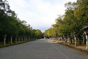 橿原神宮表参道