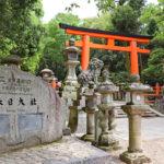 春日大社|朱色の社殿の周りに、藤の紫と無数の灯籠(奈良名所巡り)