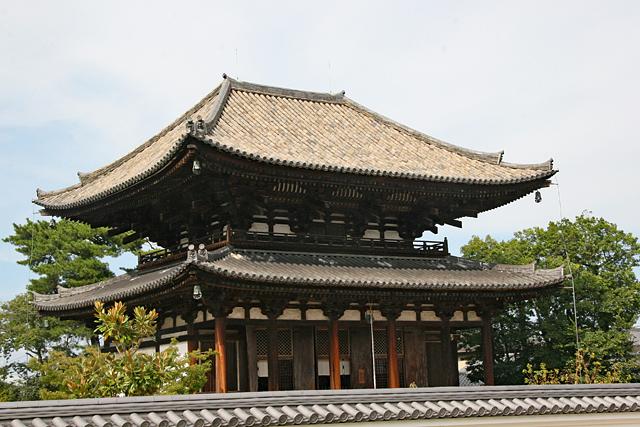 喜光寺本堂遠景
