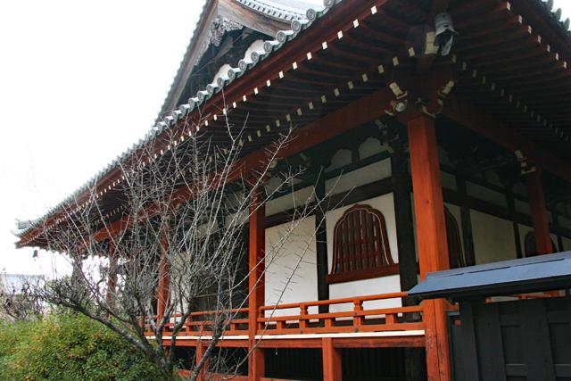 久米寺境内