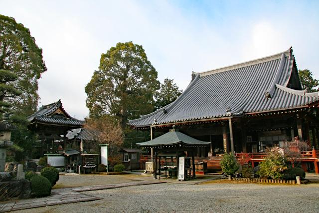 久米寺境内風景