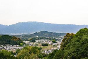岡寺境内からの眺望