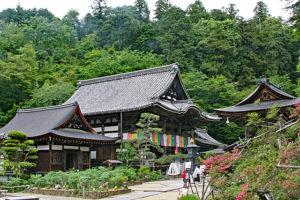 岡寺・本堂遠景