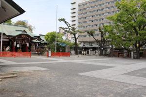 開口神社・本殿と境内摂社