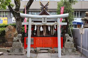開口神社摂社・三宝荒神社(竃神社)