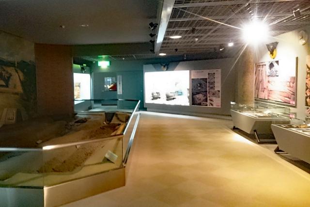 アイセルシュラホール2階・歴史展示ゾーン