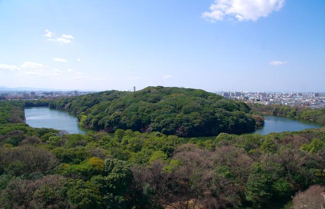 仁徳天皇陵(大山古墳)