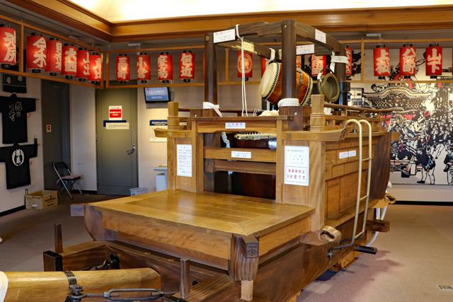 岸和田だんじり会館・4階体験コーナー