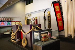 岸和田だんじり会館・4階展示コーナー