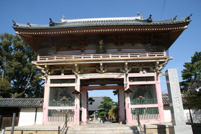 葛井寺南大門(楼門)