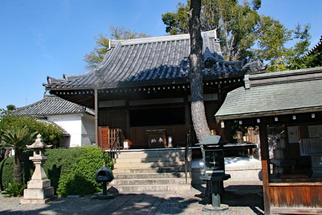 葛井寺護摩堂
