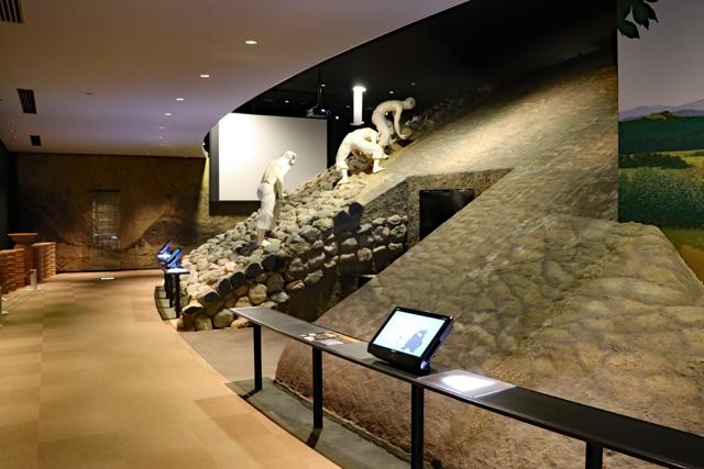 今城塚古代歴史館・館内風景