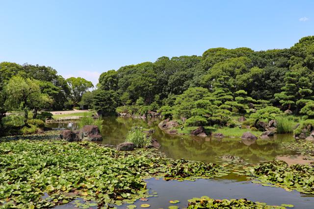 慶沢園の大池