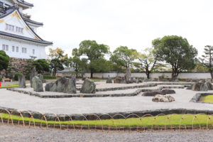 岸和田城庭園「八陣の庭」