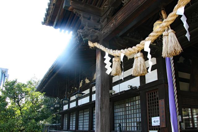 誉田八幡宮社殿