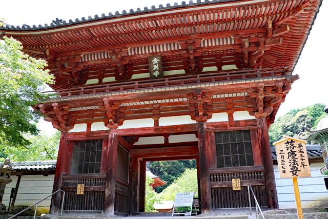 金剛寺楼門