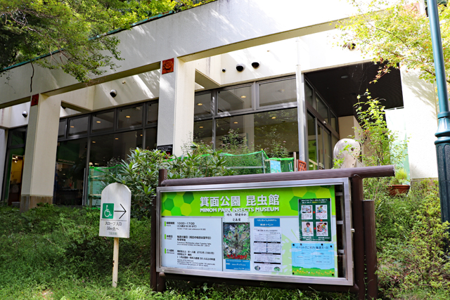 箕面公園昆虫館