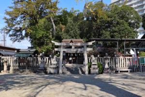 長野神社正面